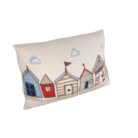 John Lewis Beach Huts Cushion