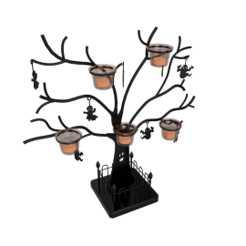 Halloween Tealight Tree