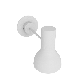 Type 75 Sconce, Alpine White