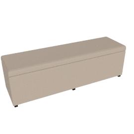 Grandview/Mirage Bench/Ottoman L 150x47x42.5cm, Brown