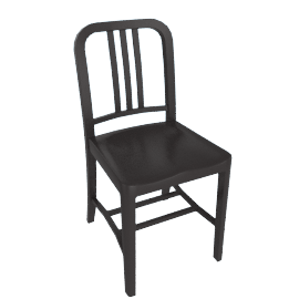 111 Navy Chair, Charcoal