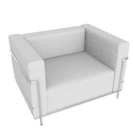 LC3 Grand Modele Armchair, Down Cushions
