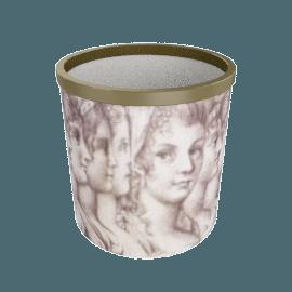 profili di donna paper basket by fornasetti