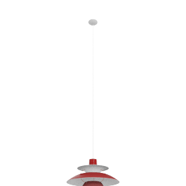 PH5 Mini Pendant Lamp, Red