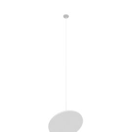 Circa LED 12'' Pendant, White