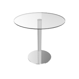 Enzo 2 Seater Round Dining Table