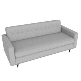 "Bantam 73"" Sofa in Fabric"