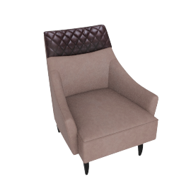 Sahara Accent Chair Brown