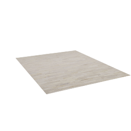 Thin Strip Cowhide Rug, 8'x10'