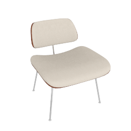 Eames Upholstered Molded Plywood Lounge Chair (LCM)