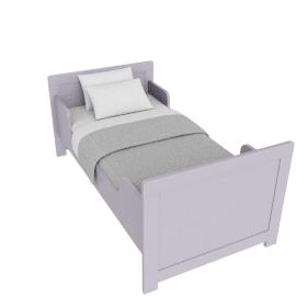 Parker Toddler Bed - 70x140, Purple