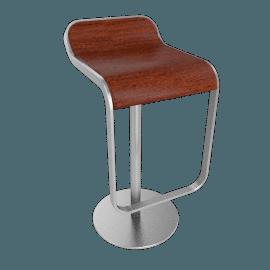LEM Piston Stool - Wood Seat