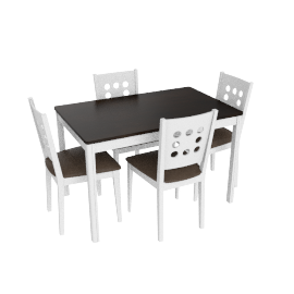 Bristol 4-seater Dining Set