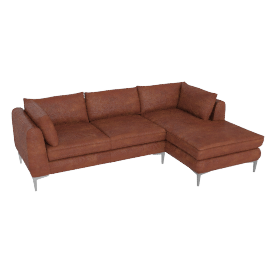 Albert Sectional Chaise Left - Vienna