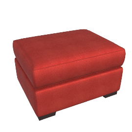 Portola Ottoman - Fabric